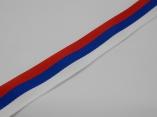 Лента репс 2 см Российский флаг