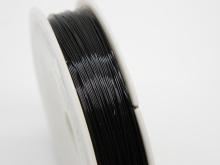 Проволока для бисера 0,4мм 50м черная