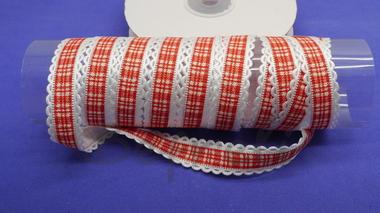 Лента с ажурным краем 16 мм