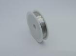 Проволока для бисера 0,3мм 50м  серебро