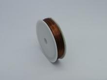 Проволока для бисера 0.5 мм 40 м коричневый